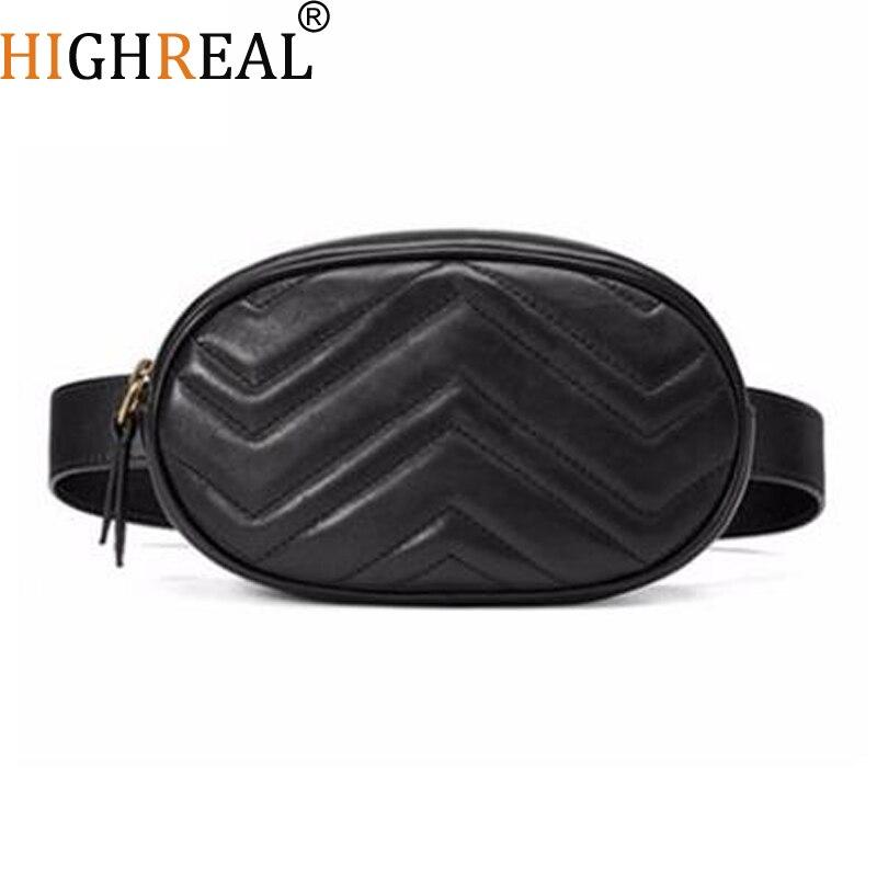 Chest Bag Women Circle Waist Packs Round Belt Bag Luxury Brand Fashion Leather Handbag  2018 Hight QualityChest Bag Women Circle Waist Packs Round Belt Bag Luxury Brand Fashion Leather Handbag  2018 Hight Quality