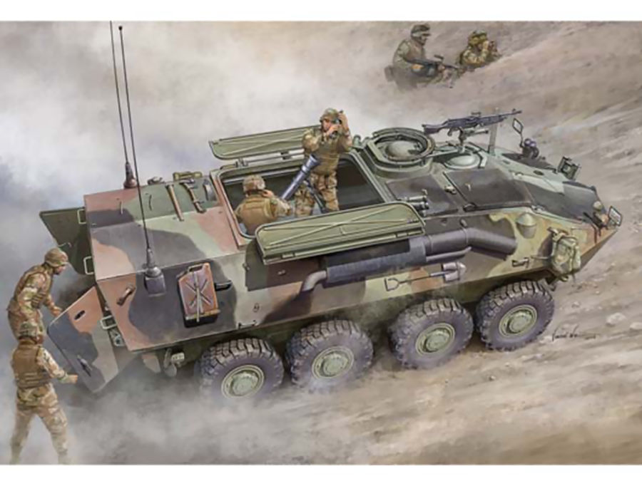 1pcs Action Figures Toy Kids Gift Collection For Trumpeter 1/35 00391 LAV-M (Mortar Carrier Vehicle) Model Kit 1pcs action figures toy kids gift collection for trumpeter 01524 1 35 flakvierling 38 sd kfz 7 1 late