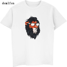 ef6a53e3b25 New 2018 Men Summer Novelty Cool T Shirt Vintage Lion King Print T-shirt  Men s Casual Cotton Short Sleeve Tee Shirts Streetwear