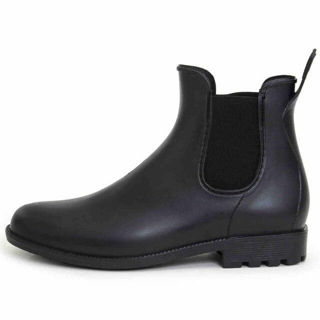 Мужские резиновые сапоги рыбацкие обувь непромокаемую обувь скольжения SUB1219