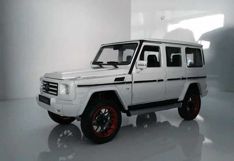 Handmade Fine Workmanship 1:24 RC Crawler Modified Truck Car For Benz Modification Car Orlando Hunt