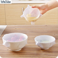 1Pcs Different Size Silicone Sealed Cling Film Kitchen Accessories Gadgets for The Goods Tool