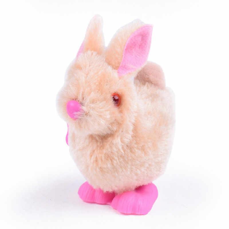 Плюх кролик игрушки младенец ребенок чучело прыгающие игрушки завершать работу прыжки кролик игрушка фестиваль подарок случайный цвет