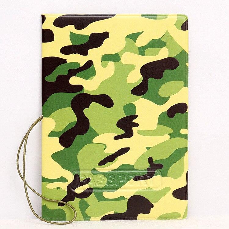 Горячая зарубежных дорожные аксессуары Обложка для паспорта, багажные аксессуары паспорт карты-Army Green