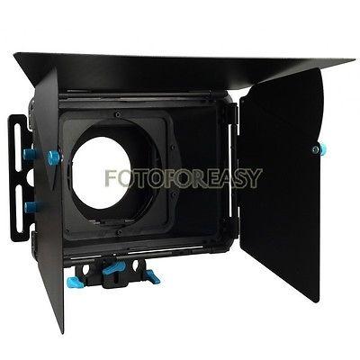 FOTGA DP3000 프로페셔널 매트 상자 15mm로드 DSLR 장비 용 선반 + 필터 트레이