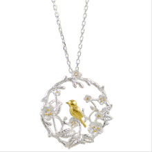 Elegant Bird Classic Creativity Necklace Jewelry for Women