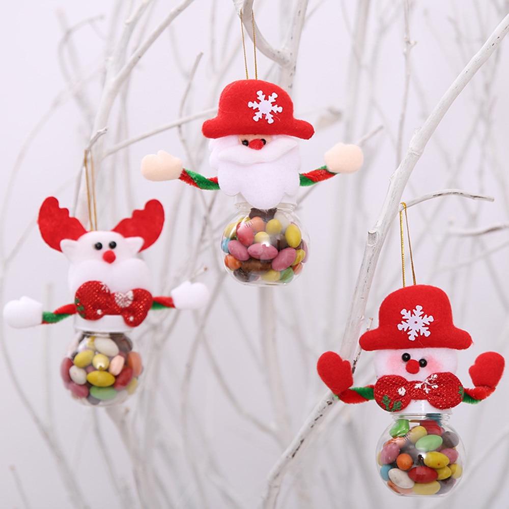 Popular Home Decor Gift Ideas For Christmas: 2018 Cute Christmas Candy Storage Christmas New Decorative