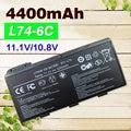 4400mAh Battery For MSI BTY-L74  BTY-L75 A5000 A6000 A6203 A6205 A7200 CR600 CR610 CR610X CR620 CR630 CR700 CX600 CX700 CX705