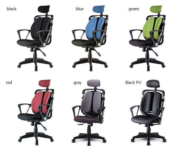 European and American popular office chair retail blue orange gray green black red color company stool free shipping