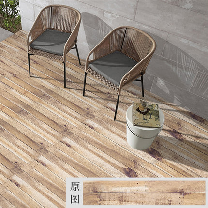 DIY Thick PVC wood floor stickers bedroom bathroom waterproof wear resistant wallpapers decorative wall stickers self adhesive in Wallpapers from Home Improvement