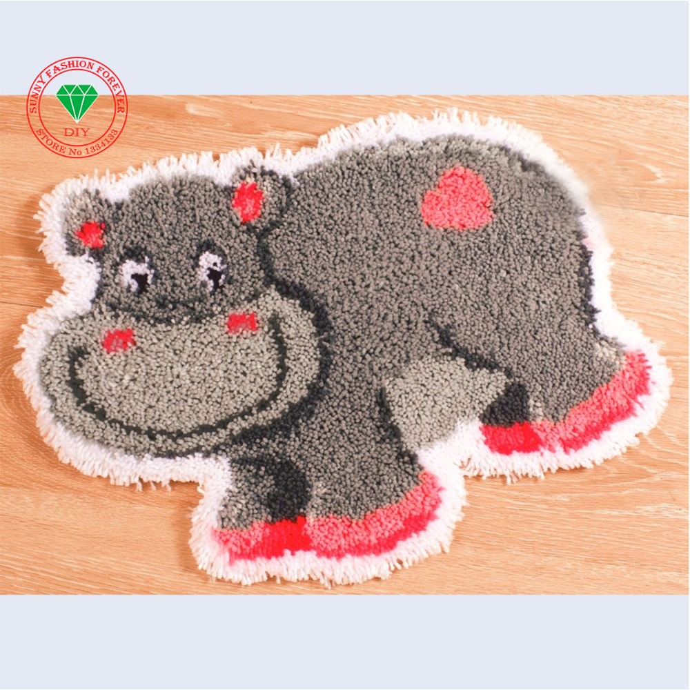 Hook rug yarn supplies