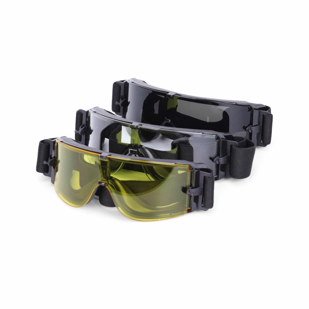 NEW Military X800 Tactical Camouflage Goggles Set Outdoor Skiing Bicycle Goggle Men Women Snow Sun Glasses Cycling eyewear
