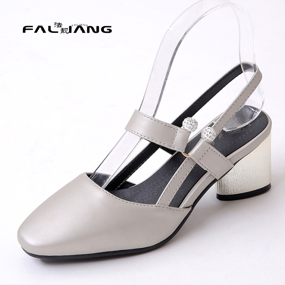 Black sandals size 11 - Big Size 11 12 13 14 Elegant Square Toe Shallow Casual Solid Square Heel Women S Shoes High Heels Sandals Woman For Women
