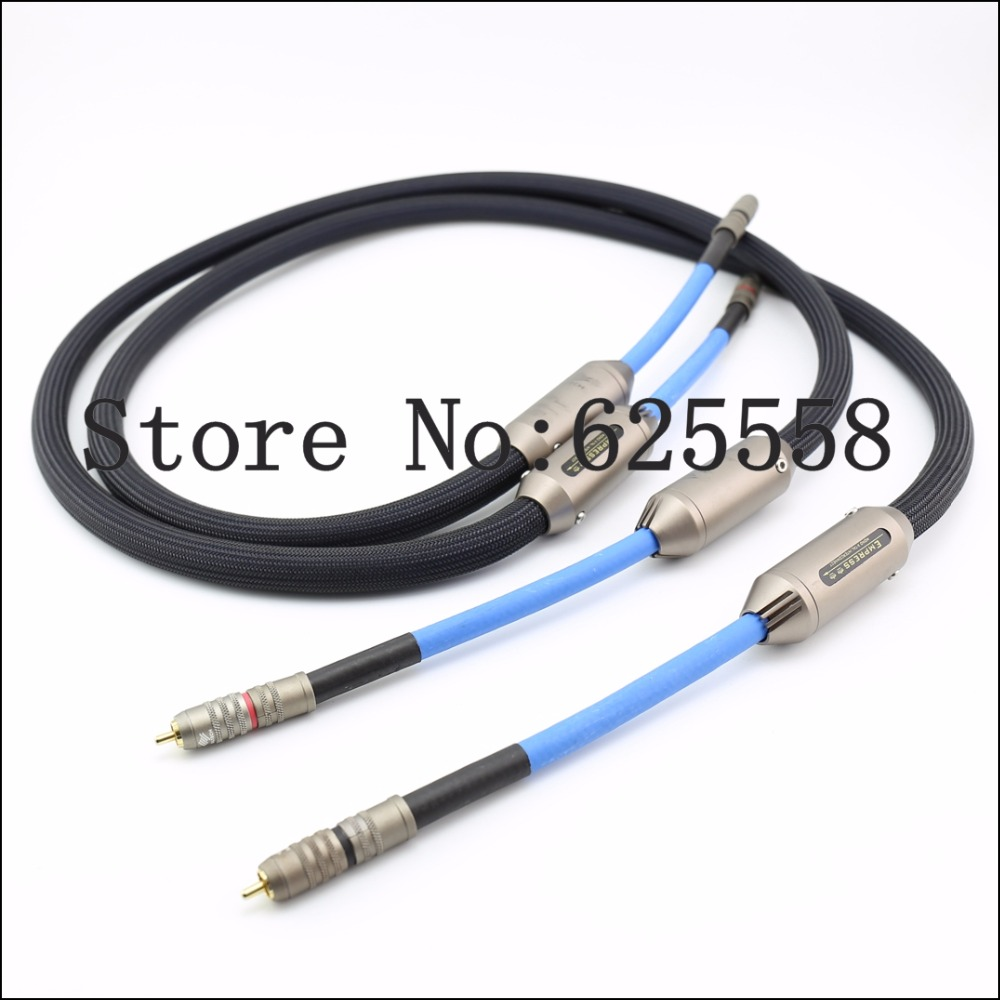 Empress Double Crown RCA Interconnect Audio Cable With Original Box Hifi RCA Audio Cable extension cable