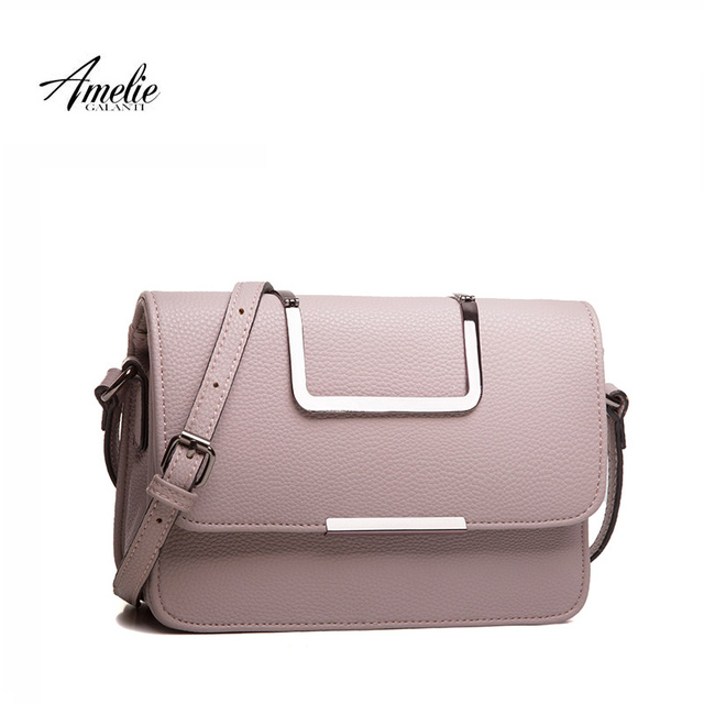 AMELIE GALANTI fashion women messenger bags high quality hard small flap shoulder bag keep with elegant versatile available
