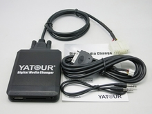 купить Yatour YTM07 Digital Music CD Changer USB SD AUX Bluetooth  ipod iphone  interface for Toyota Big 5+7 Lexus Scion Mp3 Plyer дешево