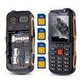 MAFAM M1 4 tarjetas SIM 4 en espera del teléfono móvil SIM de Cuatro cuatro tarjetas SIM de teléfono celular móvil whatsapp FM DV real 2800 mAh gran sonido P168