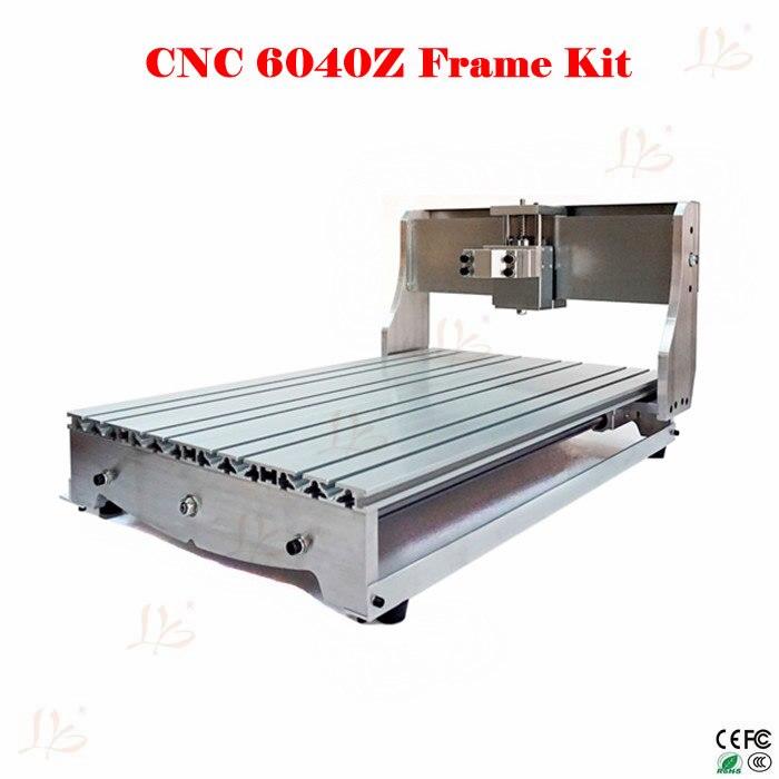 Cnc Frame 6040z Draaibank Diy Rack Met Bed, Bal Schroef, Optische As, Spindel Klem