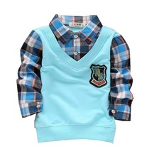 Рубашка для мальчиков TS 2015 Camiseta