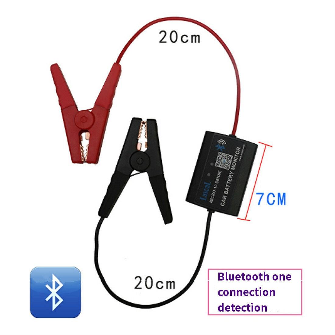 Smart Bluetooth Car Battery Tester Battery Capacity Internal Resistance Tester