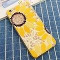3D Цветы Подсолнечника Мягкие TPU Чехол для iPhone 5S SE 6 6 S Плюс Мода Падение Сопротивления Телефон Крышки Защитной Оболочки Силиконовый Чехол