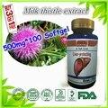 Silimarina cardo de Leite de alta Qualidade com a de Proteger o fígado, 500 mg x 100 caps frete grátis Comprar 3 Get 1