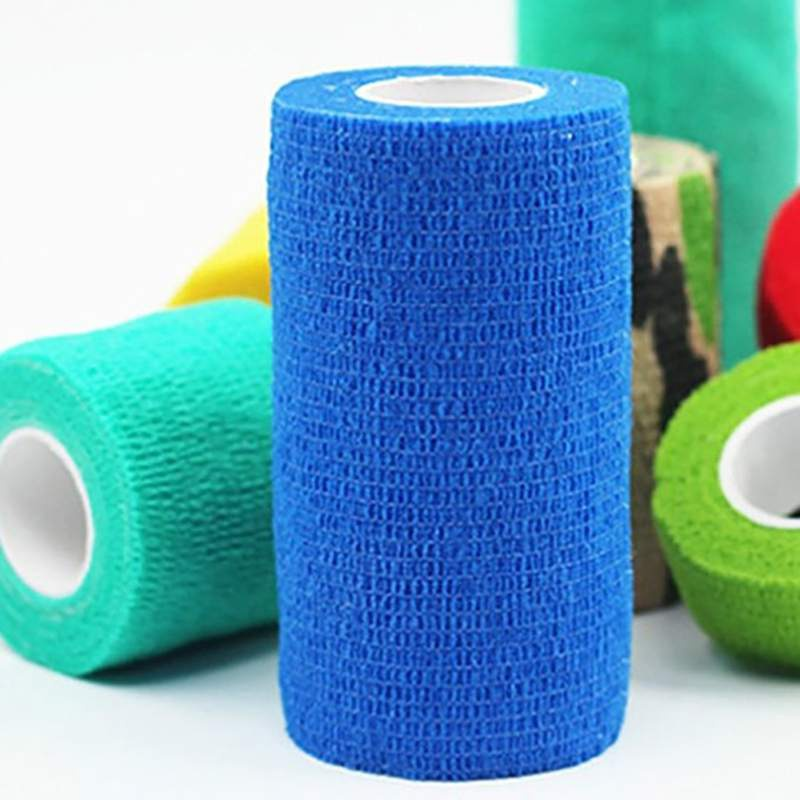 New font b Pet b font Self Adhesive Elastic Bandage Mixed Color font b Pet b