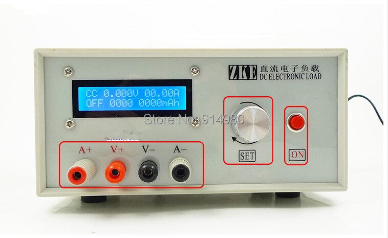 EBD-A20H Multifunction Electronic load power / battery capacity of resistance testing, support 20A discharge ,computer on-line)