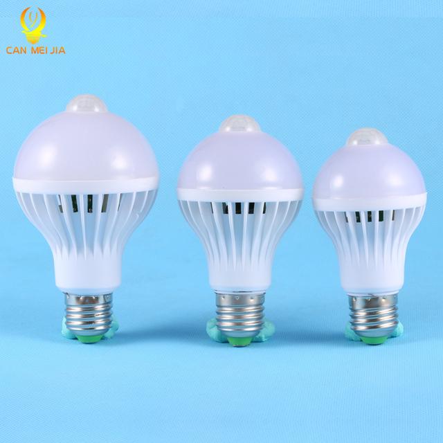 PIR Motion Sensor Lamp 5w Led E27 Bulb Lights 7w 9w Auto Smart LEDs | PIR Infrared Body Bulbs