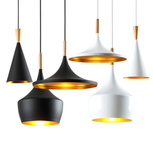 Modern Small Musical Instruments Pendant Lights Led Aluminum Pendant Lamp Living Room Restaurant Cafe Bar Lighting Hanging Lamp creative style restaurant and bar mysterious indian musical instruments living room pendant light page 5