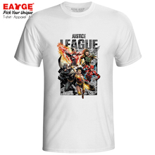 Where Is Superman T-shirt Justice League Aquaman Batman Flash Wonder Women Cyborg Pop T Shirt Creative Funny Unisex Men Tee все цены