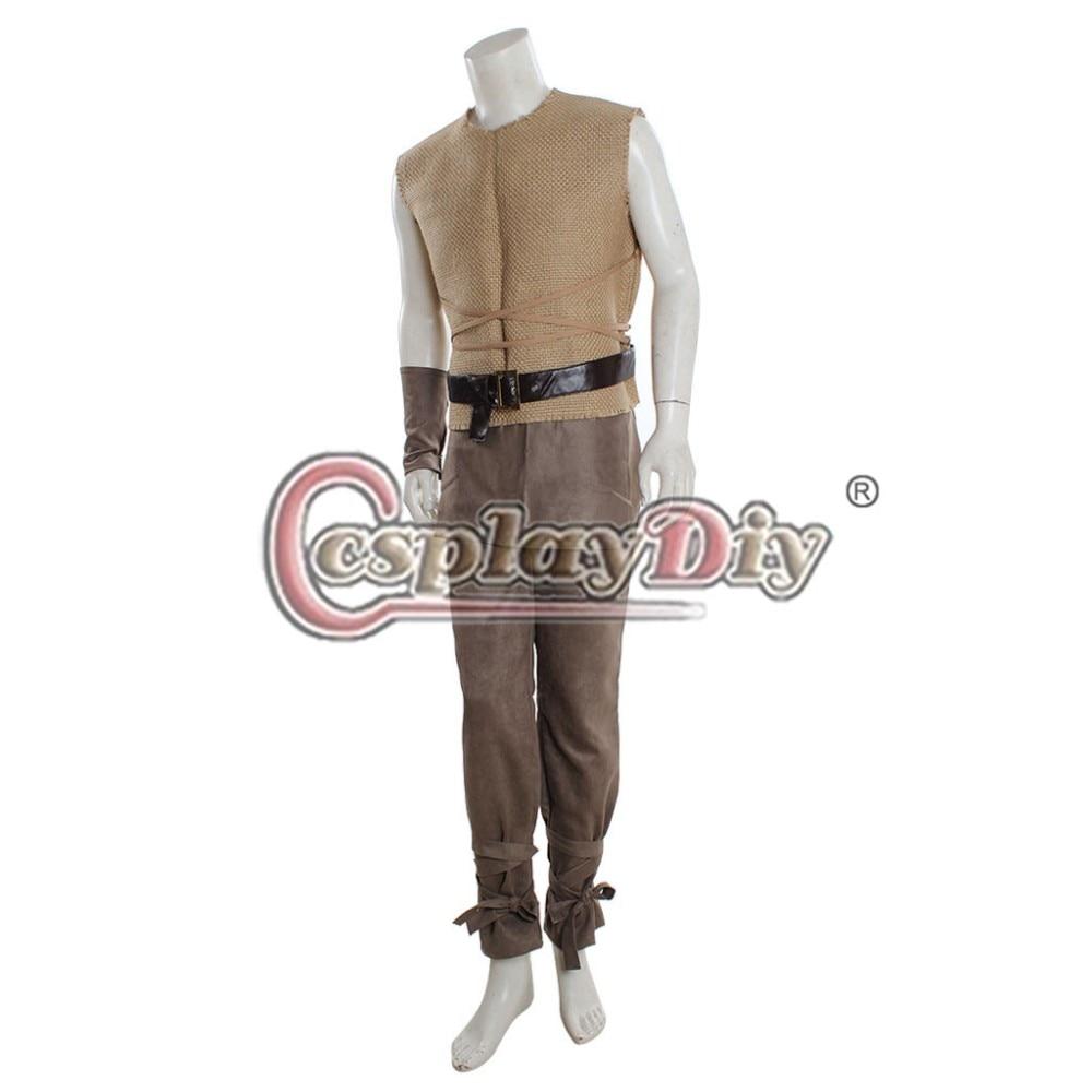 Cosplaydiy  Game of Thrones Kovarro Dothraki Cosplay Costume Adult Men's Halloween Outfit Custom Made