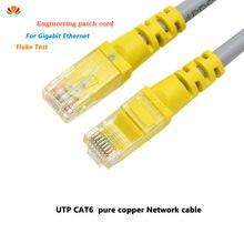 1m 1.5m 2m 3m UTP CAT6 câble RJ45 réseau cordons de raccordement fils de cuivre ligne LAN pour Gigabit Ethernet commutateur routeur PC ordinateur