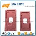 Precisión molde de aluminio para iphone 7/7 plus laminador molde de Metal Para El Vidrio Frontal con Marco de Ubicación para OCA
