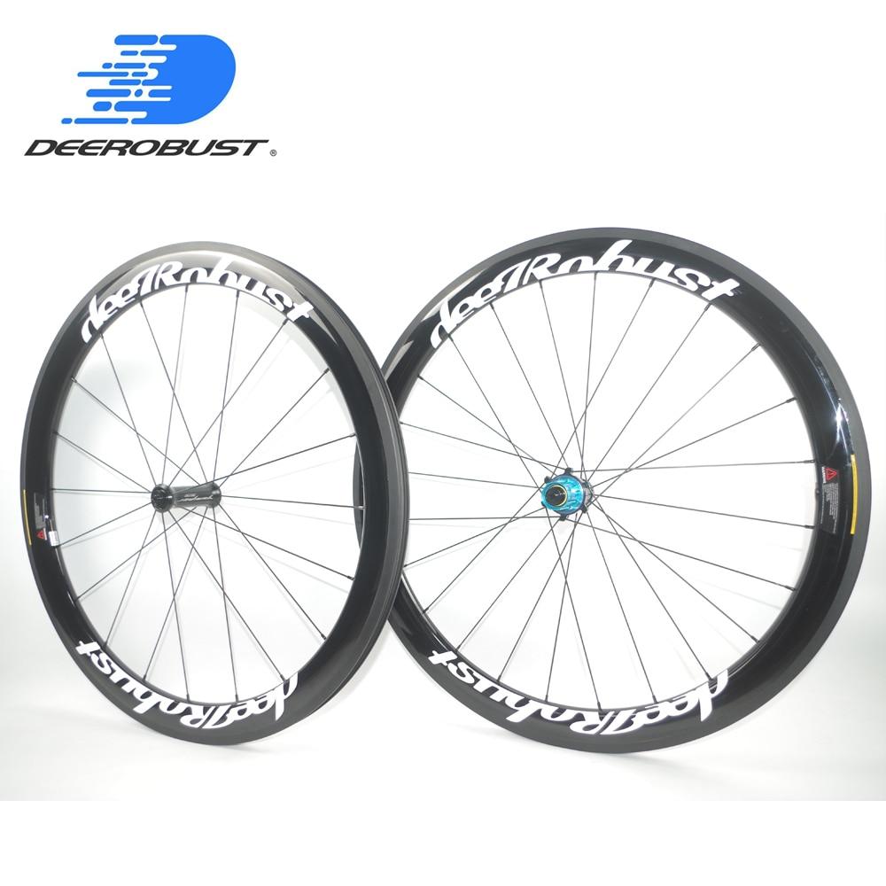 50mm carbon road bike rim clincher 700C 25mm  high TG light bicycle premium rim