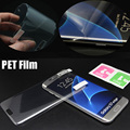 Free shipping Ultra Thin Guard PET s7 edge Screen Protector film For Samsung Galaxy s6 edge Plus s7edge (not tempered glass)