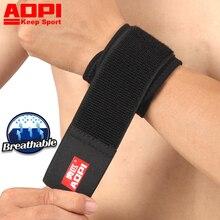 AOPI Brand New Wrist Support Brace Fitness Хлопковая прочность запястье Ткань Бандаж Наручный браслет Наручный ремешок Регулируемый