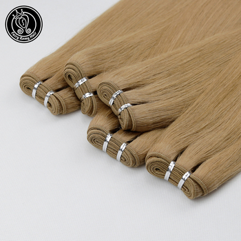 """Fairy Remy Hair 100g/pc 16"""" 18"""" Remy Straight Hair Weft Bundles Human Hair Extension Double Wefted Hair Extensions Sew in Bundle"""
