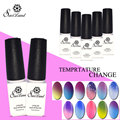 Saviland Temperature Change Nail Glaze Gel Nail Polish UV Gel Nail Kit Varnish Nail Glue Gel Mood Colors Changing Pick 2