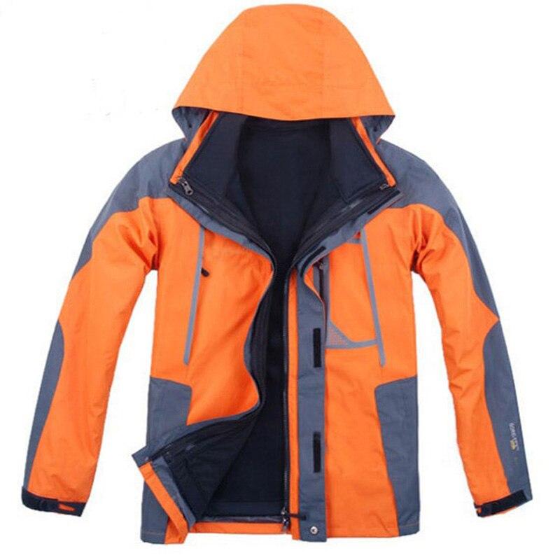 Extérieur veste hommes manteau hiver chasse coupe-vent Ski manteau imperméable randonnée pluie Camping pêche vêtements Sport vestes hommes manteau