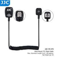 Tüketici Elektroniği'ten Fotoğraf Stüdyosu Aksesuarları'de JJC 1.3 m TTL Off Camera Ayakkabı Kablosu Flaş Kablosu FC P3 Pentax K 30 K 5 K R 645D Speedlite Fener