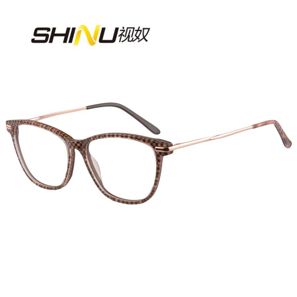 Progressive Multifocal Anti Blue Light Reading Glasses Multifocus Glasses SH037