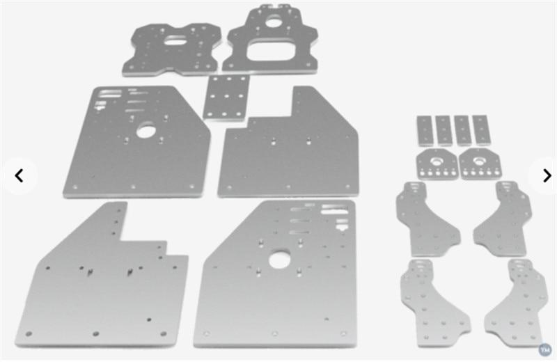 Horizon Elephant Openbuilds OX CNC router machine parts accessory FL3D OX CNC Plates kit/set DIY 3D Printer parts ox cnc machine parts openbuilds ox cnc aluminum gantry plates with universal threaded rod plates
