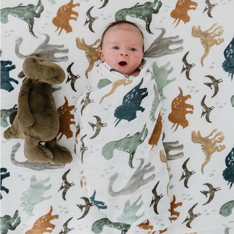 Um 70% bambu bebê swaddle musselina cobertor de qualidade melhor do que aden anais bebê multi-uso grande fralda cobertor infantil envoltório