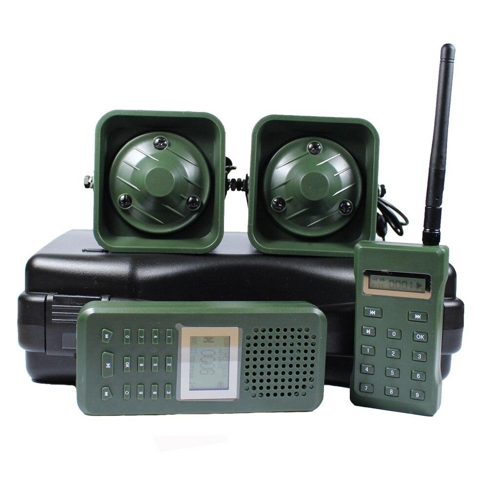 Chasse leurre oiseau appelant avec télécommande 2 pièces 50 w 150dB haut-parleur oiseaux son amplificateur oie canard chasse piège