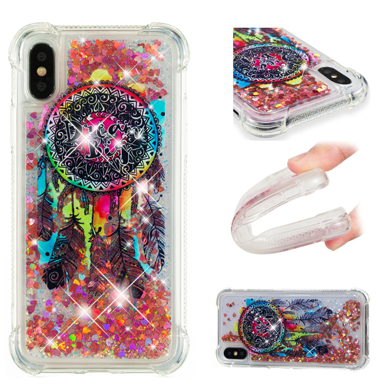 Phone Bags & Cases Charitable Clear Tpu Shockproof Tliquid Sand Back Protector Cases With Patterns For Iphone 6 6s Plus 7 8 8plus X Samsung S8 S8 Plus S9 S9 P For Sale Cellphones & Telecommunications