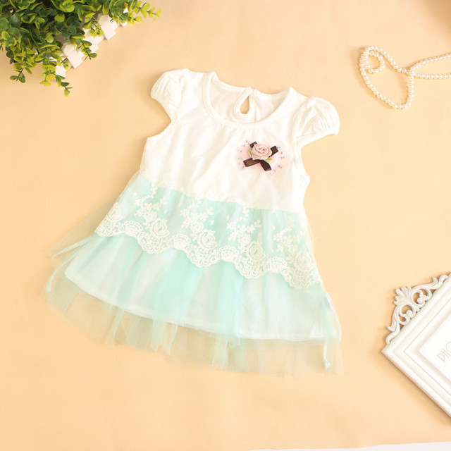 96e8f8660db26 New Arrival Baby Girls Princess Dresses Baby Floral Lace Dress Girls Lolita  Style Summer Dresses Free Shipping-in Dresses from Mother & Kids