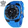 Fashion Military Watches Men Dual Display Wristwatch LED Digital Big Dial Alloy Watch Casual Watch Clock Men Gift WS1008  WS1008