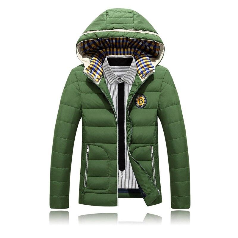 Aliexpress.com : Buy Winter Duck Down Jacket Men Embroidery Logo ...