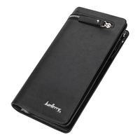 5 Baellerry Men S Brand Luxury PU Leather Men Wallet Small Ultra Thin Card Holder Mens